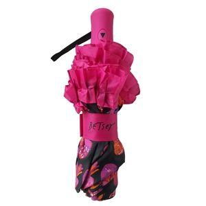 Betsey Johnson Accessories - Betsey Johnson Pineapple Pattern Auto Umbrella